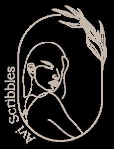 Logo - Avi Scribbles - Calligraphy - Wedding Signage - Storefront artist - Wedding invitations Canada - Ottawa Ontario